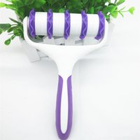 DIY кухонные инструменты для выпечки снабжение партии торт помадка ленты ленты резак с эмблерным роликом торт украшения инструменты RRD7617