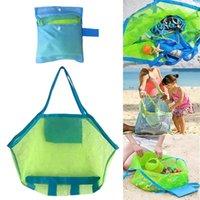 Storage Bags Toys Bag Large Mesh Protable Kids Swimming Beach Bath Toy Clothes Towel Bathroom Organizer Women Shoulder Shopping