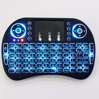 i8 2.4GHz Wireless Mouse Gaming Keyboards Backlight Multi-color Backlit Mouse Remote Control for TV Android Boxes MXQ PRO t95 X96 tx3 h96