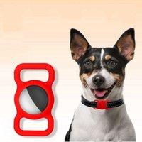 حزام الشريط القضية لبطاقة ايرتاج الكلب بطاقة طوق سيليكون يغطي حالات مكافحة فقدت الحيوانات الأليفة الحيوانات الأليفة تتبع تحديد المواقع 826 B3