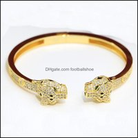Bracelets Jewelry Customization Highest Counter Quality Advanced Bangle Brand Designer 18K Gilded Fashion Panthere Series Clash Trinity With