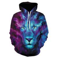 2020 New Hit Hoodie Wolf 3D Mens Boys Hoodies Sweatshirt Brand Designer Girls Clothes Autumn Winter High Quality Sweatshirt 5XL