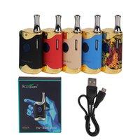 100% Original Kangvape TH -420 II Box Kit mit 650 mAh Batterie TH -420 Anweisungen Vape Box Mod für 510 Faden Dicke Ölkassette Zerstäuber