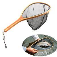 Atterraggio Net Catch and Release Net Fish Saver Saver Nylon Mesh per la pesca Trout Kayak Barca BARCA PESCA