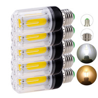 E14 B22 COB LED Mısır Işık Ampuller AC 110 V 220 V E26 E12 Beyaz Lambalar 12 W 16 W Ampoule Bombilla Ev Yatak Odası Oturma Odası Için