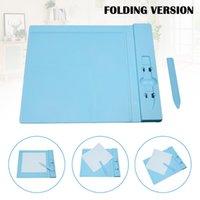 Craft Tools Kuvert Punch Board Scoring Paper Professional Mini Measuring Tool Scrapbooking för Origami Envelopes Folder
