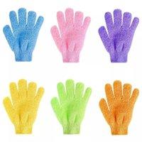 Cloth Bath Glove Moisturizing Spa Skin Baths Shower Gloves Wash Scrubber Back Scrub Towel Scrubs Body Massage Sponge Bath-Gloves For Kid Woman Home Useing