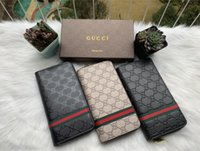 Gucci GG Neue Mode Frauen Geldbörse Männer Lange Brieftasche Hohe Qualität Leder Kupplung Tasche