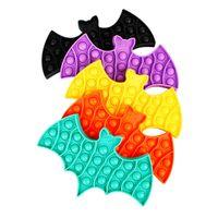 SKHY Christmas Favor Bubble Fidget Toys Adult Relief Bear Bat Diamond Style Toy Antistress Pop Soft Squishy Anti-Stress Gift