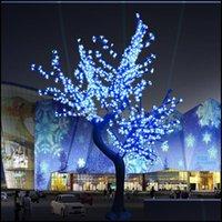 ديكورات فناء، حديقة الحديقة المنزل بتراحة عيد الميلاد ضوء الكرز زهر الكرز 864 قطع بقيادة bbs 2m ارتفاع داخلية أو في الهواء الطلق استخدام المطر