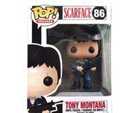 Новый Funko Pop Scarface 86 # Tony Montana PVC коллекция фигуры игрушки на день рождения Gifts7eqi