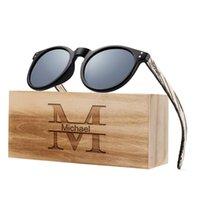 Gafas de sol Hecho a mano negro con su propio diseño para hombre gafas de madera mujeres espejo polarizado cuadrado vintage