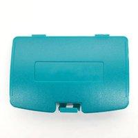 Крышка аккумулятора Пакет Замена оболочки задней двери для игры Boy Color GBC DHL FedEx EMS Бесплатная доставка