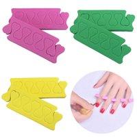 10 pcs espuma macia esponja dedos de toe separadores populares separador separador divisores nail art manicure pedicure prego gel ferramentas
