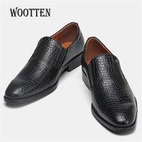 Männer formale Schuhe WOTOTEN MARKE ZEIGEN ZOE BUSINESS CLASSIC SANTLE MANN Kleid Schuhe # KD6263C1 210316