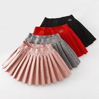 Weleake Детская твердая шерстяная плиссированная юбка для девочек стиль моды Springautumn юбки для девочек детская юбка детская одежда малышей 210302