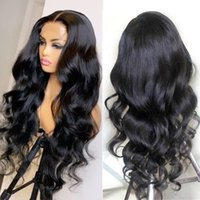 Lace Wigs 13X4X1 Body Wave Front Wig Pre Plucked 30 Inch Huam Hair Frontal Brazilian For Women 4X4 Closure