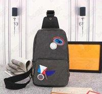 Avenida Sling Bag Mens Designer Couro Bolsas De Couro Mans Luxurys Designers Cross Body Bolsa Carteira Hobos Message Bandbag Tote N41719 N41720 i6yq #