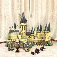 Expédition rapide 16060 Porter Série de films 6020PCS Castle magique avec 71043 Blocs de construction Brique Jouets Cadeaux