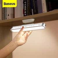 Baseus Magnetic Table Lamp Hanging Wireless Touch LED Desk Lamp Home Cabinet Studio Lettura Stepless Dimming USB luce notturna