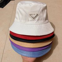 Carta de moda Bucket Chapéu para Mens Womens Dobrável Caps Preto Pescador Praia Sol Visual Venda Dobrável Homem Bow Bow