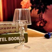 1 pc novo estilo de cristal vidro luz titular vela decoração de alta qualidade