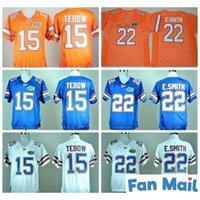 NCAA Florida Gators Football 15 Tim Tebow Jersey Wholesale 22 E.