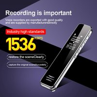 Digital Voice Recorder MP3 Player Digtal With Screen,HD Professional Dictaphone Sound Audio Activated Pen Record Earphone