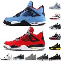 TY 4 4S Zapatos de baloncesto para hombre Fuego Cactus Rojo Jack juego Royal Motor Stylist Zapatillas deportivas Tamaño 40-47