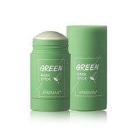 Temizlik Yeşil Çay Sopa Arındırıcı Kil Maskesi Yağ Kontrolü Uyku Çamur Film Temizleyici
