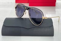 0242 Yeni Popüler Güneş Gözlüğü Erkekler Oval Güneş Gözlüğü Metal ve Metal Silah Ile Basit Rahat Tarzı Gözlük UV 400 Koruma Paket ile Gönder