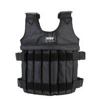 Nuovo-Suten max 20 kg di carico di carico regolabile gilet pesed giacca gilet esercizio fisico boxe formazione invisibile peso roading sabbia cl cl