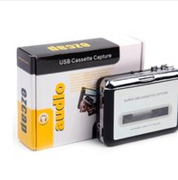 Portable MP3 cassette decks capture to USB Tape PC Super Music Player Audio Converter Recorders Players Cassettes