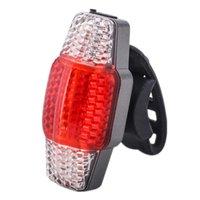 5 modalità pannocchia LED luce posteriore USB ricaricabile Smart Turn Signal Brake Bike Lights Avvertimento di sicurezza Lampada da ciclismo Lampada posteriore Taillight (rosso)