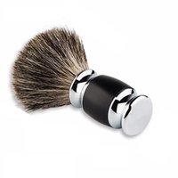 Cepillo de afeitado del cabello Yintal Badger Badger Hecho a mano Cepillos de punta de plata Herramienta de afeitar Razor Cepillo de afeitar