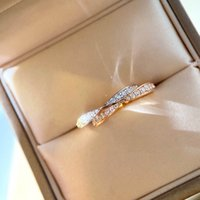 Fashion style S925 silver punk band ring with diamonds in two colors plated for women wedding jewelry gift have stamp PS8894