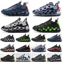 Max 720 ISPA Obj Kayma Siyah Erkek Koşu Ayakkabıları Beyaz Siyah Metalik Gümüş Dalgalar Beyaz Beckham Jr Siyah Erkekler Eğitmen Spor Sneakers
