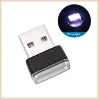 Mini LED Işık Oto İç USB Araba Aksesuarları Için BMW X1 E84 F48 X3 X4 F34 F31 F11 F07 F30 F10 X5 E53 F15 E70 E71 X6 F16