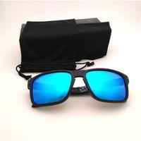 Güneş Gözlüğü Yeni Binme Polarize Sunglass Moda Spor Erkekler Için Sunglass Plaj Sunglass Mavi Kırmızı Siyah