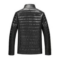 2021 TAO TING Yeni Hakiki Deri Ceket, Koyun Kraliyet Erkeklerinden Uzun Oku H84 LBE3