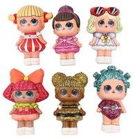 Декомпрессионные детские игрушки поднимаются медленно сбросить чрезмерные куклы для детей