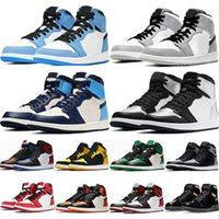 1 1s University Blue mens Basketball Shoes Men Women Chicago...
