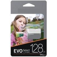 녹색 128GB 64GB16G 8G 32G EVO 스마트 폰용 소매 패키지에서 무료 SD 어댑터가있는 TF 메모리 카드 선택