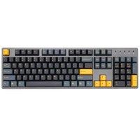 Taihao ABS مزدوجة S Keycaps منتصف الليل ل DIY الألعاب لوحة المفاتيح الميكانيكية اللون الأسود الأصفر 104 ANSI 210610