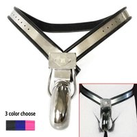 Male Chastity Belt Cock Cage BDSM Bondage Stainless Steel Fetish Device Restraint Penis Lock Cbt Metal Slave Sexy Toys For Men