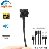 HD 1080P Mini cámara USB 15 * 15mm Tipo de botón C OTG Cámara Android CCTV Seguridad con audio1