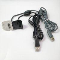 1.8M USB اللاسلكية لعبة تحكم gamepad شحن عصا التحكم شاحن امدادات الطاقة كابل ل xbox360 xbox 360