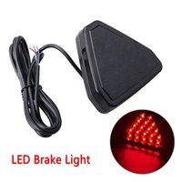 Emergency Lights Pickups Brake Light RVs Rear Red SUVs Stop Strobe Tail 1PC Triangle