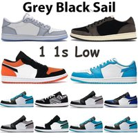 1s Low Light Smoke Grey Mens shoes Shattered Backboard 1 Sat...