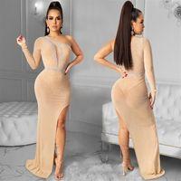 X8u sexy dace-up holter cou robe dames hip hip hip street sangle robe robe femme beach womens wed midi robe womens wome